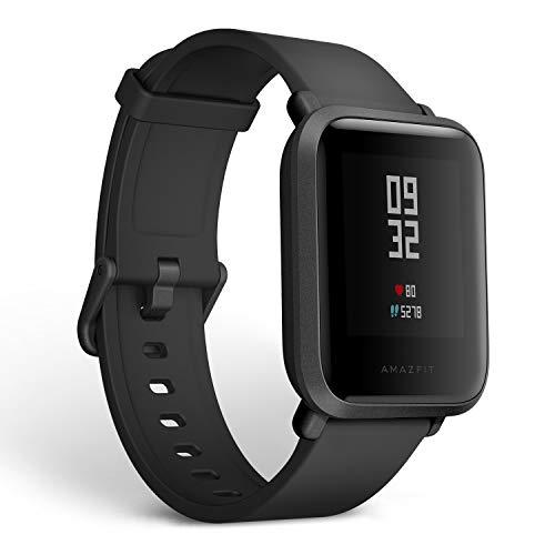 Amazfit Bip 健身智能手表、全天心率和活动跟踪、睡眠...